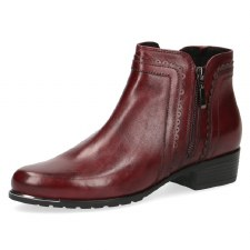 Caprice '25312' Ladies Ankle Boots (Bordo)