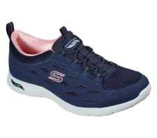 Skechers 'Arch Fit Refine' Ladies Shoes (Navy)