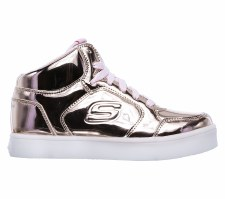 Skechers 'S Lights: Energy Lights' Girls Shoe (Rose Gold)