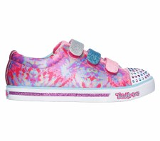 Skechers 'Twinkle Toes: Shuffles - Sparkle Glitz - Pop Party' Girls Shoes (Pink Multi)