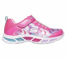 Skechers 'S Lights: Litebeams' Girls Trainers (Pink Multi)