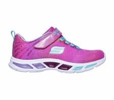 Skechers 'Litebeams - Gleam N' Dream' Girls Trainers (Pink Multi)