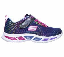 Skechers 'Litebeams - Gleam N' Dream' Girls Trainers (Navy Multi)