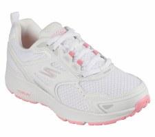 Skechers 'GOrun Consistent' Ladies Trainers (White/Pink)