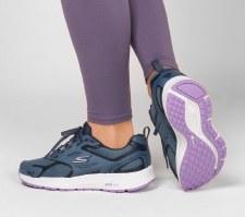 Skechers 'GOrun Consistent' Ladies Trainers (Blue/Purple)