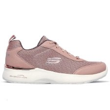 Skechers 'Skech Air Dynamight - Fast' Ladies Trainers (Mauve)