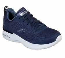 Skechers 'Skech Air Dynamight - Fast' Ladies Trainers (Navy)