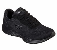 Skechers 'Skyline' Ladies Trainers (Black)