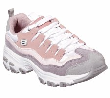 Skechers 'D'Lites - Sure Thing' Ladies Trainers (Pink)
