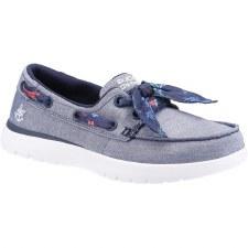 Skechers 'On the Go Flex - Castaway' Ladies Shoes (Navy)
