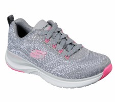 Skechers 'Ultra Groove' Ladies Trainers (Grey)