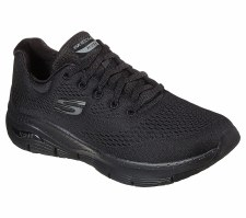 Skechers 'Arch Fit - Sunny Outlook' Ladies Trainers (Black)
