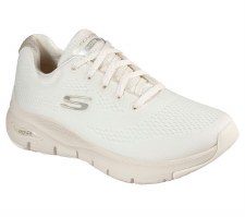 Skechers 'Arch Fit - Big Appeal' Ladies Trainers (Off White)
