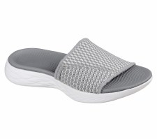 Skechers 'On The Go 600 - Nitto' Ladies Sandals (Grey)