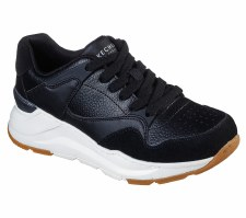 Skechers 'Street Rovina - Cool To The Core' Ladies Shoes (Black)