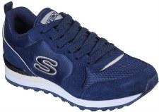 Skechers Street 'OG 85 - Step N Fly' Ladies Shoes (Navy)