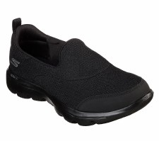 Skechers 'GOwalk Evolution Ultra - Rapids' Ladies Shoes (Black)