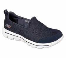 Skechers 'GOwalk Evolution Ultra - Rapids' Ladies Shoes (Navy)
