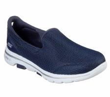 Skechers 'GOwalk 5' Ladies Shoes (Navy)