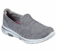 Skechers 'GOwalk 5 - Honor' Ladies Shoes (Grey)