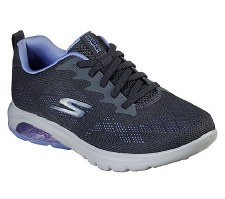 Skechers 'GOwalk Air - Windchill' Ladies Trainers (Charcoal)