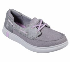 Skechers 'On The Go Glide Ultra - Playa' Ladies Shoes (Grey)