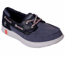 Skechers 'On The Go Glide Ultra - Playa' Ladies Shoes (Navy)