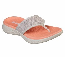 Skechers 'On the GO 600 - Glossy' Ladies Sandals (Taupe)