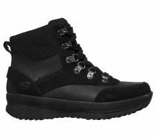 Skechers 'Road Heights' Ladies Ankle Boots (Black)