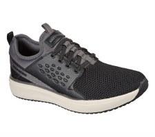 Skechers Street Wear 'Crowder - Colton' Mens Shoes (Black/Grey)