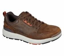 Skechers 'Rozier - Mancer' Mens Shoes (Brown)