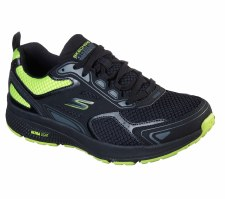 Skechers 'GOrun Consistent - Vestige' Mens Trainers (Black/Lime)