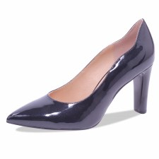Caprice '22402' Ladies Heels (Black Patent)