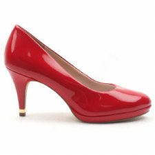 Tamaris '22444' Ladies Heels (Red Patent)