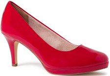 Tamaris '22444' Ladies Heels (Red Patent)
