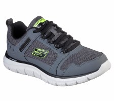 Skechers 'Track - Knockhill' Mens Shoes (Grey)