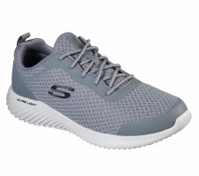 Skechers 'Bounder - Voltis' Mens Trainers (Grey)