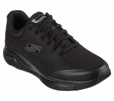 Skechers 'Arch Fit' Mens Trainers (Black)