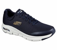 Skechers 'Arch Fit' Mens Trainers (Navy)
