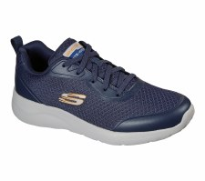 Skechers 'Dynamight 2.0 - Full Pace' Mens Trainers (Navy)
