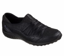 Skechers 'Be Light - On The Groove' Ladies Shoes (Black)