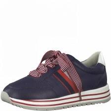 Jana '23633' Ladies Sneakers (Navy)