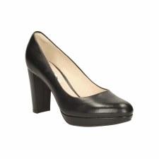 Clarks 'Kendra Sienna' Ladies Heels (Black)