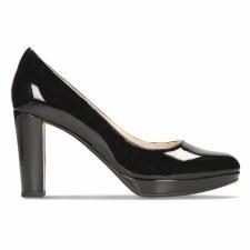 Clarks 'Kendra Sienna' Ladies Heels (Black Patent)