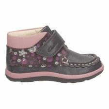 Clarks 'Alana Lynn' Girls First Boots (Grey)