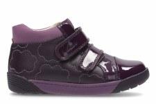 Clarks 'LilfolkEmy' Girls Pre Boots (Plum)