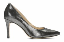 Clarks 'Dinah Keer' Ladies Heels (Pewter Metallic)