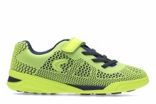 Clarks 'Award Blaze Inf' Boys Trainers (Yellow Neon)