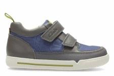 Clarks 'LilfolkHop' Boys Pre Shoes (Grey Combi)