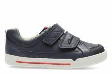 Clarks 'Lilfolk Toby' Boys Pre Shoes (Navy)